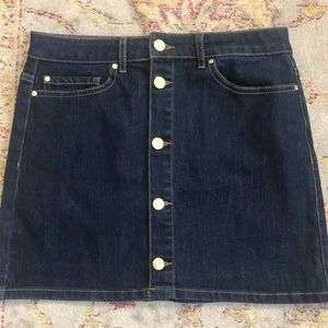 Kate Spade Denim Mini Skirt